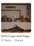 2016 Cups and Flags