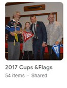 2017 Cups and Flags